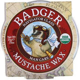 BADGER MUSTACHE WAX 21G