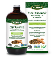 FLORA FLOR-ESSENCE w TURKEY TAIL AND TURMERIC 500ML