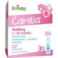 Boiron Camilia Teething - 30x1ml - Homegrown Foods, Stony Plain