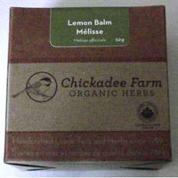 Chickadee Farm Lemon Balm Tea - 50g - Homegrown Foods, Stony Plain