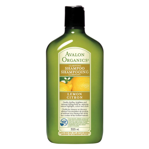 AVALON ORGANICS SHAMPOO CLARIFYING LEMON, 325ML