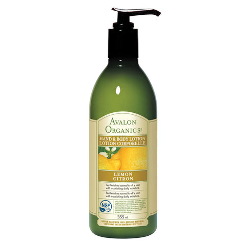 AVALON ORGANICS BATH /SHOWER GEL LEMON, 350ML