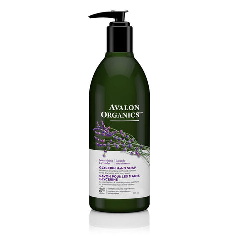 AVALON ORGANICS HANDSOAP LAVENDER, 350ML