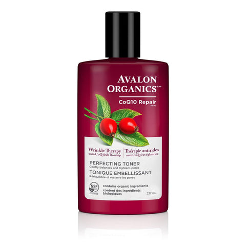 Avalon Organics Face Toner COQ10 -  237ml
