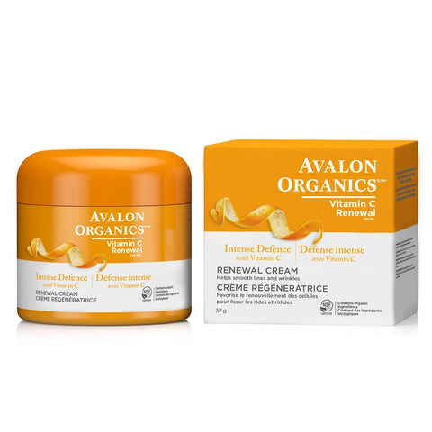 AVALON ORGANICS RENEWAL CREAM VIT C, 57G
