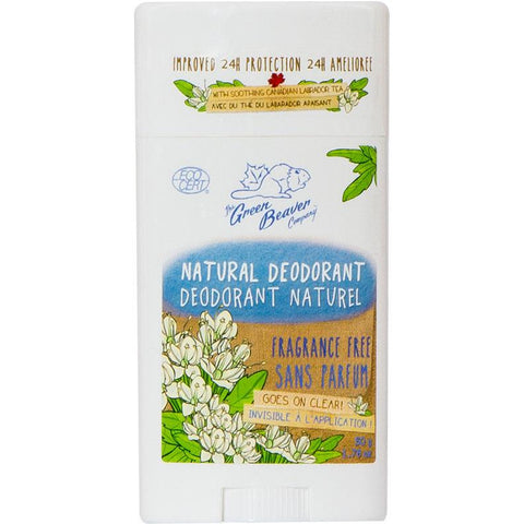 Green Beaver Natural Deodorant Fragrance Free - Homegrown Foods, Stony Plain