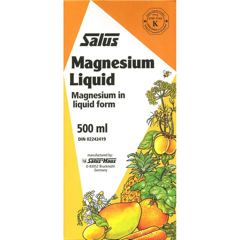 Salus Liquid Magnesium - 500ml - Homegrown Foods, Stony Plain