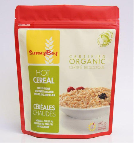 Sunny Boy Organic Hot Cereal, 680g - Homegrown Foods, Stony Plain