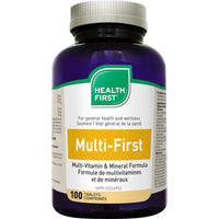 Health First Multi-First Multi-Vitamin & Mineral, 100 Tabs