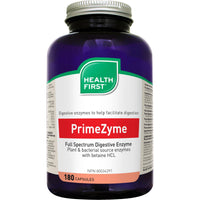 Health First PrimeZyme Full Specturm Digestive Enzymes, 180 Caps