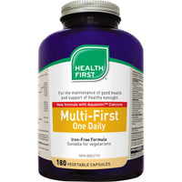 Health First Multi-First (Iron Free Formula) - 180 VCaps - Homegrown Foods, Stony Plain