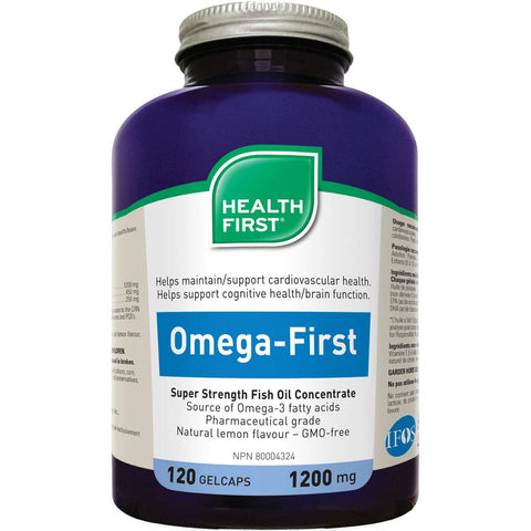 Health First Omega First, 1200mg - Homegrown Foods, Stony Plain