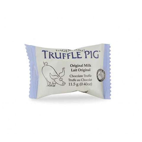 HAGENSBORG CHOCOLATES LTD. TRUFFLE PIG ORIGINAL MILK, 11.5G