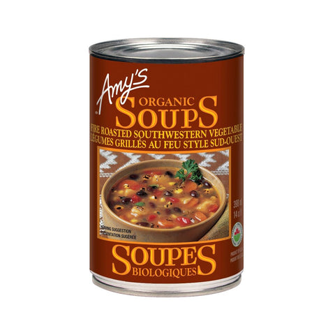 Amy's Fire Roasted Southwestern Vegetable Soup - 398 mL
