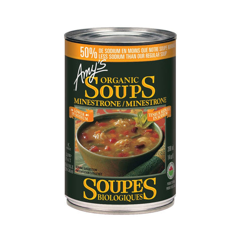 Amy's Minestrone Soup (Low Sodium) - 398 mL