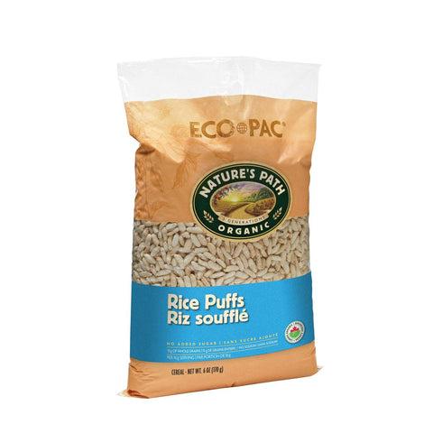 Natures Path Rice Puff Cereal - 170g