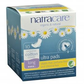 NATRACARE PADS LONG ULTRA 10 PACK