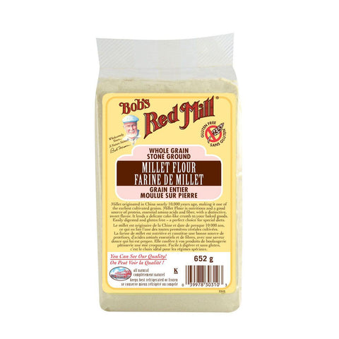 Bob's Red Mill Millet Flour (Stoneground) - 652 g