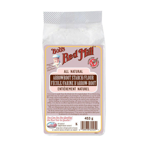 Bob's Red Mill Arrowroot Starch/Flour - 453 g