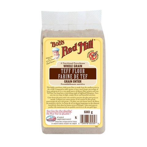 Bob's Red Mill Teff Flour Whole Grain - 680 g