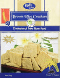 NUTRI CRISP CRACKERS BROWN RICE, 160G