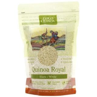 Organic Quinoa (Royal White), GoGo Quinoa - Homegrown Foods, Stony Plain