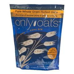 Only Oats Pure Whole Grain Rolled Oats - 1kg - Homegrown Foods, Stony Plain