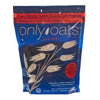Only Oats Pure Whole Grain Quick Oat Flakes - 1kg - Homegrown Foods, Stony Plain