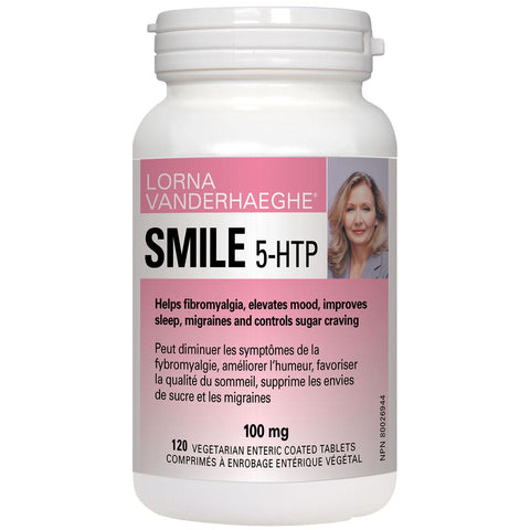 Lorna Vanderhaeghe SMILE 5-HTP, 100mg - Homegrown Foods, Stony Plain