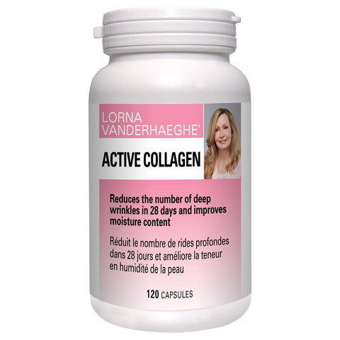 Lorna Vanderhaeghe Active Collagen 120 VCaps - Homegrown Foods, Stony Plain