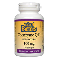 Natural Factors Coenzyme Q10 (100% Natural) 100mg / 30SGels