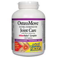 Natural Factors OsteoMove Extra Strength & Fast Acting Joint Care, 120Tabs