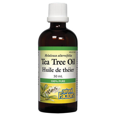 Natural Factors 100% Pure Tea Tree Oil, 50ml