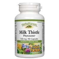 Natural Factors Milk Thistle Phytosome, 150mg, 90 Caps
