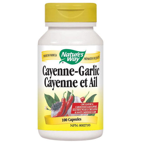 Nature's Way Cayenne Garlic - Homegrown Foods, Stony Plain