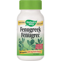 Nature's Way Fenugreek Seed, 610mg - 100 Caps - Homegrown Foods, Stony Plain