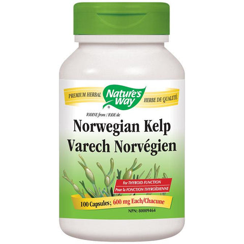 Nature's Way Norwegian Kelp, 600mg - Homegrown Foods, Stony Plain