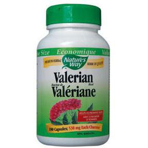 Nature's Way Valerian Root, 530mg - 100 Caps - Homegrown Foods, Stony Plain