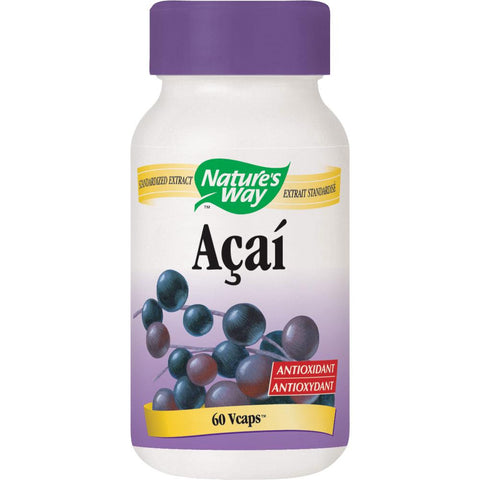 Nature's Way Acai - 60 VCaps - Homegrown Foods, Stony Plain