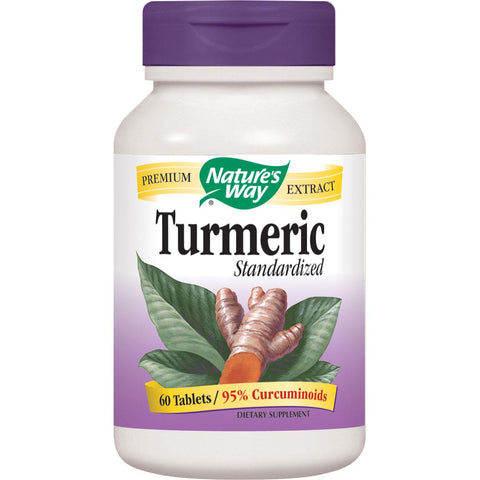 Nature's Way Turmeric - 60 Tabs - Homegrown Foods, Stony Plain