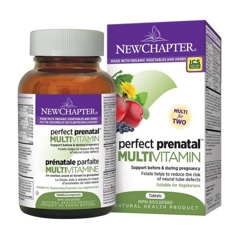 New Chapter Prenatal Multi (192) - Homegrown Foods Ltd.