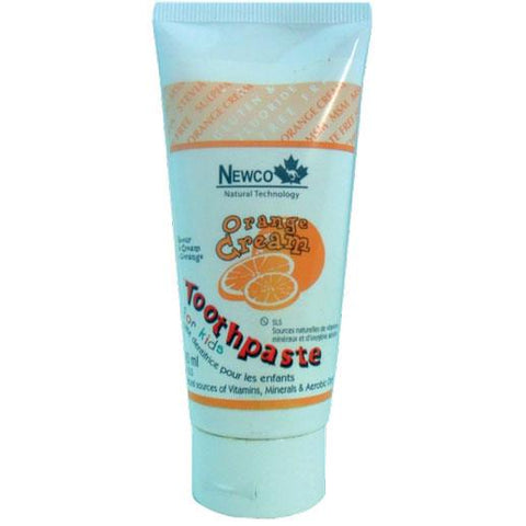 Newco Kids Toothpaste (Orange Cream) - Homegrown Foods, Stony Plain
