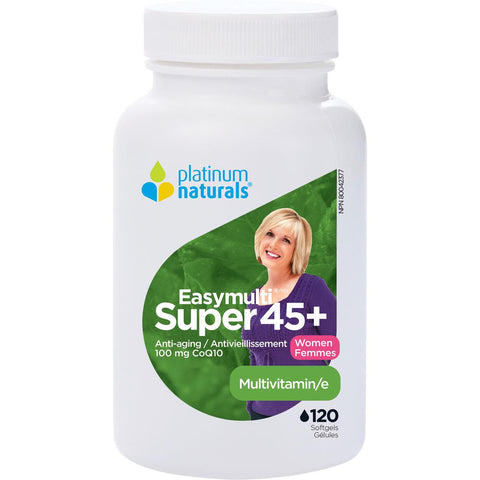 Platinum Naturals Super EasyMulti 45+ For Women - Homegrown Foods, Stony Plain