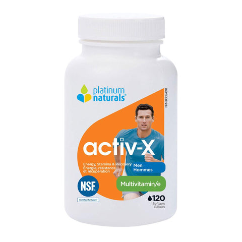 Activ-X For Men - 120 Softgels
