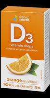 Platinum Naturals Delicious D Vitamin D3 Drops (Orange) - Homegrown Foods, Stony Plain