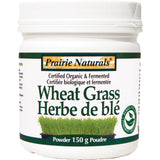 Prairie Naturals Wheat Grass, Fermented & Organic, 150g, Homegrown Foods, Stony Plain