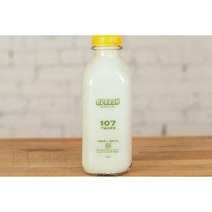 Avalon Milk, Skim, 1L (Glass Bottle)