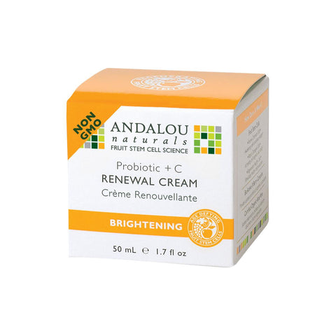 Andalou Naturals Probiotic + C Renewal Cream - Homegrown Foods, Stony Plain