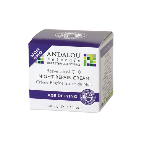 Andalou Naturals Night Repair Cream Age Defying - 50ml
