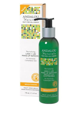 Andalou Naturals Revitalizing Lash & Lid Make-up Remover - Homegrown Foods, Stony Plain